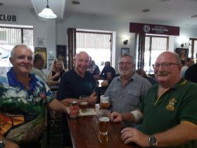 L-R Don De Tardinski, Ian Mckay, Paul Dodge, Neil Butcher