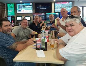 L-R - Dave Powell, Tony Earwaker, Mike O'Brien, Matt Payne, Brian Robb,Rocky Hema & Paul Scarr
